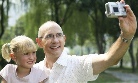 Far og datter