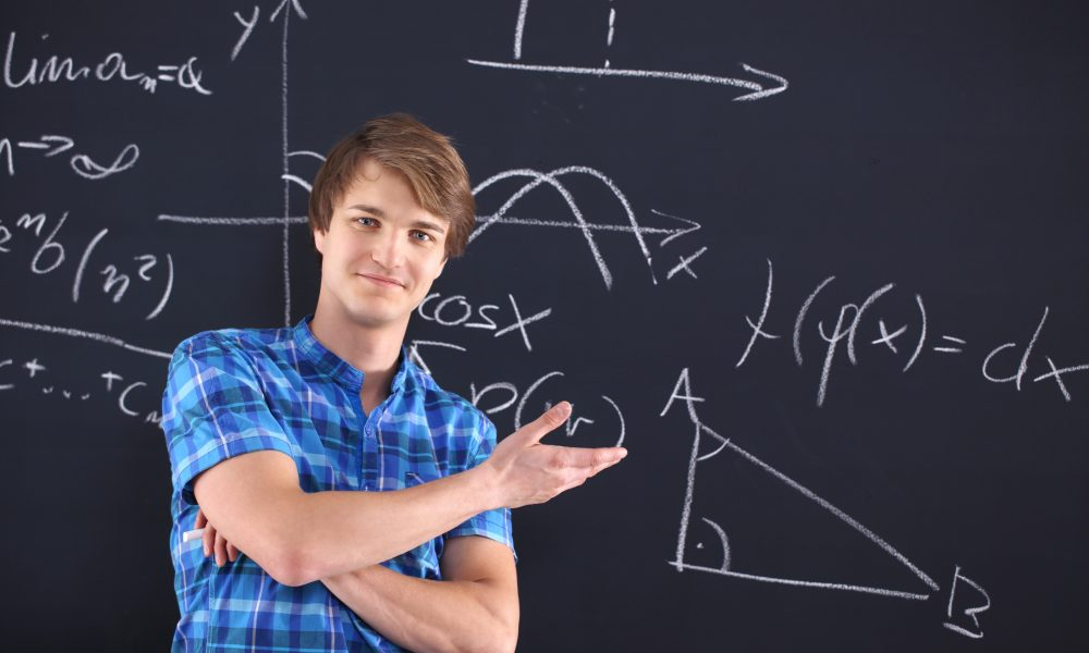 Mandlig student