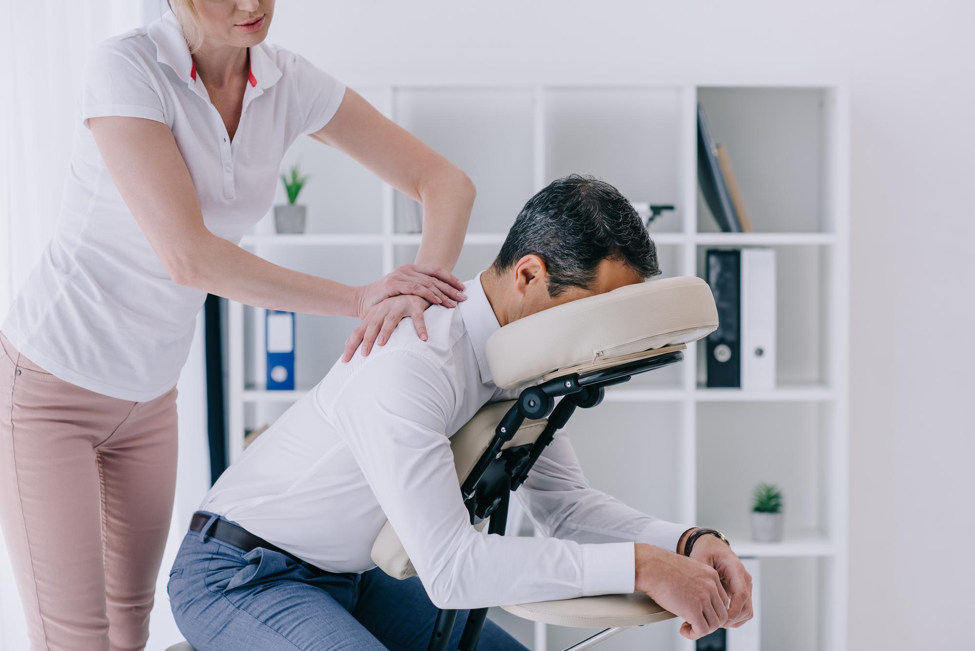 Rygmassage